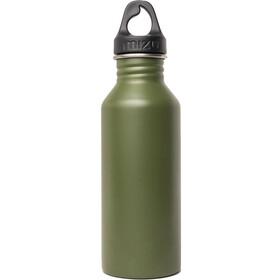 MIZU M5 Bidón con Tapa Asa Negra 500ml, enduro army